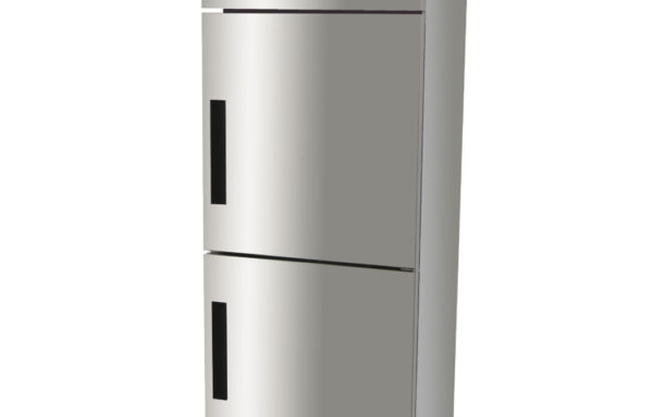 Congelador vertical 500 Lts. 2 puertas.