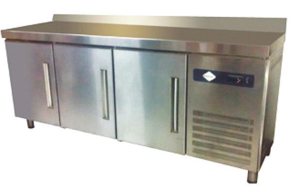 Mesón de preparación refrigerado 395 Lts.