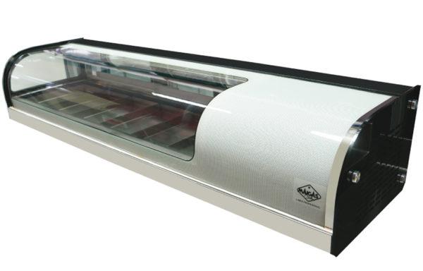 Vitrina refrigerada de Sushi 62 Lts.