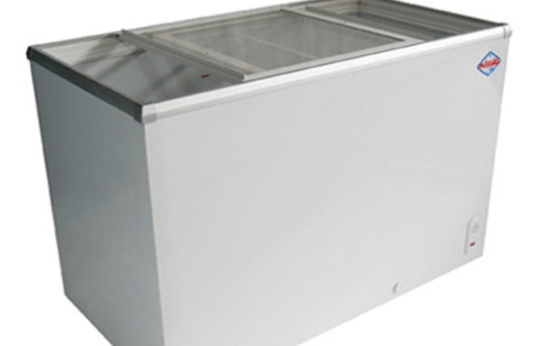 Congelador dual tapa de vidrio 330 Lts.